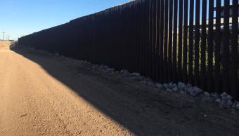 Trump insiste en muro completo en frontera con México