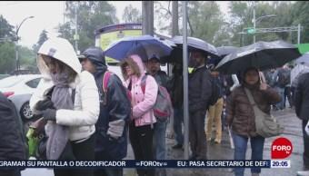 Valle De México Registra Bajas Temperaturas