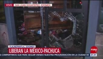 Vandalizan Tienda Autoservicio En La México-Pachuca
