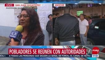 Vecinos de San Juan Ixhuatepec demandan esclarecer los hechos