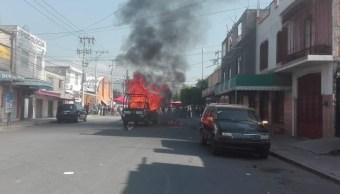 Muere menor atropellada Los Reyes La Paz incendian vehículos