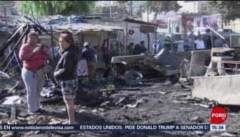 Vientos propagan incendios en Tijuana