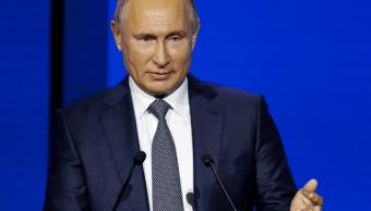 Putin defiende uso de la fuerza en enfrentamiento con buque Ucrania