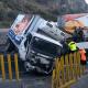 Volcadura provoca cierre en autopista México-Puebla