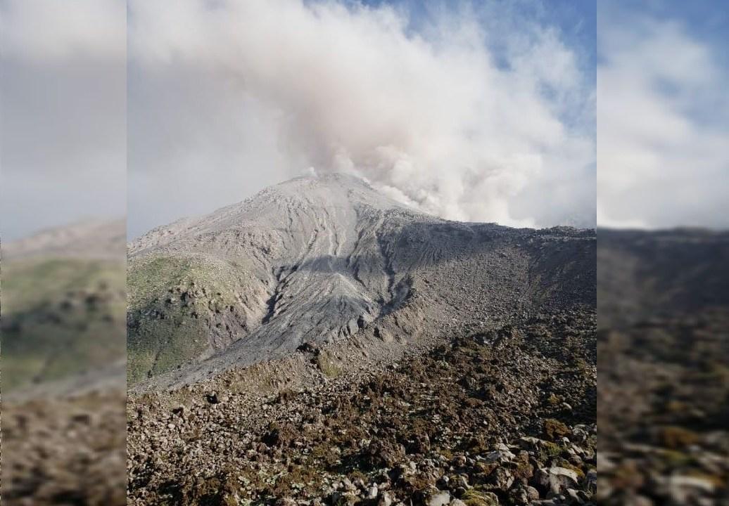 Volcán Santiaguito de Guatemala genera avalanchas