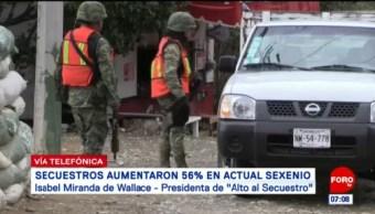 Wallace: Falta de unidades especializadas provoca alza del secuestro