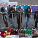 Así fue la primera Navidad de la caravana migrante en Tijuana