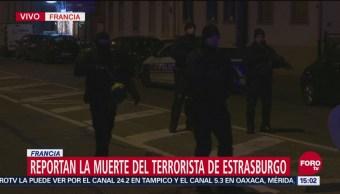 Abaten a autor de atentado en Estrasburgo
