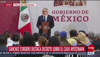Alejandro Encinas: Se retomará investigación de la PGR sobre caso Ayotzinapa