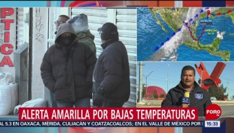 Alerta amarilla por bajas temperaturas en Ciudad Juárez