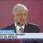 AMLO anuncia envío de iniciativa al Senado para eliminar fuero presidencial