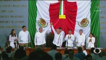 AMLO Asiste A Toma De Protesta De Nuevo Gobernador De Tabasco, AMLO, Toma De Protesta, Nuevo Gobernador, Tabasco, Morenista, Adán Augusto López, President, Andrés Manuel López Obrador