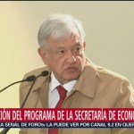 AMLO firma decreto de estímulos fiscales para región fronteriza norte