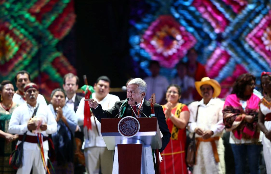 AMLO anuncia en el Zócalo los proyectos que impulsará su Gobierno