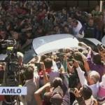 AMLO parte rumbo al Palacio Legislativo para toma de protesta