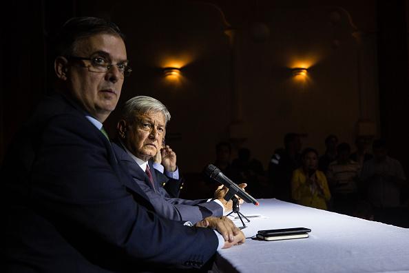 AMLO respalda en el Senado a Ebrard para SRE