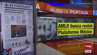 Análisis de las portadas nacionales e internacionales del 7 de diciembre del 2018