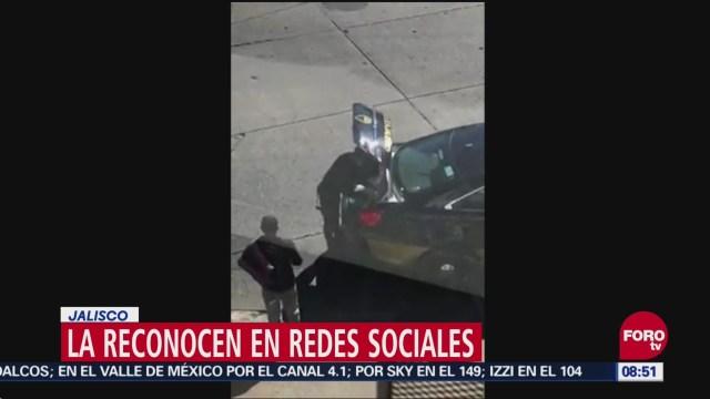 Aplauden Gesto De Policía En Jalisco, Gesto De Policía, Jalisco, Mujer De La Policía De La Fuerza Única, Redes Sociales