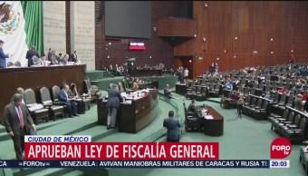 Aprueban Ley De Fiscalía General; Desaparece PGR