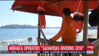 """Arranca Operativo """"Salvavidas Invierno 2018"""" Guerrero"""