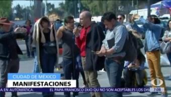 Artistas protestan contra reducción de recursos del sector cultural