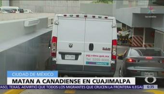 Asesinan a ciudadano canadiense en Santa Fe