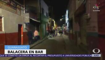 Ataque armado en bar de Irapuato, Guanajuato, deja 5 muertos