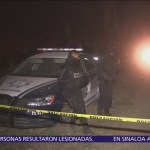 Autoridades resguardan zona de accidente en Puebla