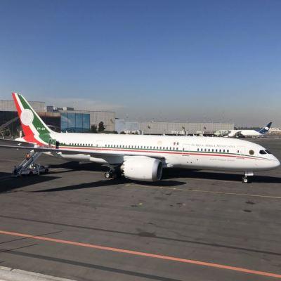 ONU pública oferta de venta del avión presidencial de México
