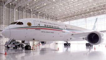 Gobierno de AMLO detalla plan de venta del avión presidencial
