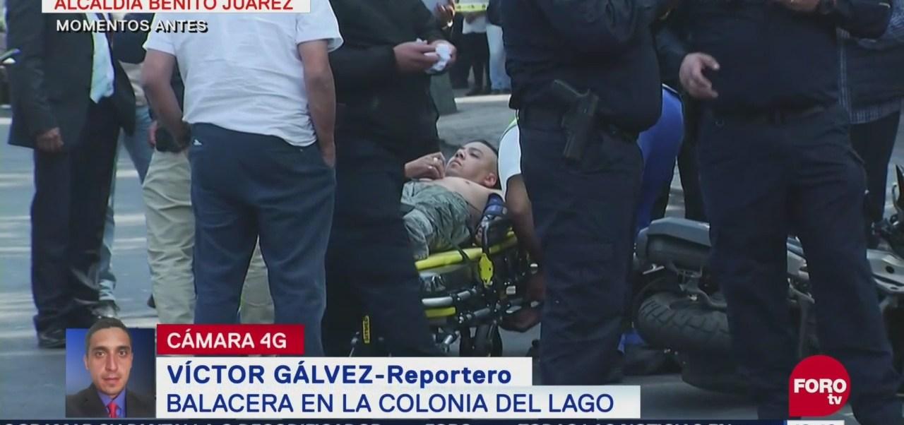 Balacera entre policías y asaltantes en la alcaldía Benito Juárez, CDMX, deja un muerto