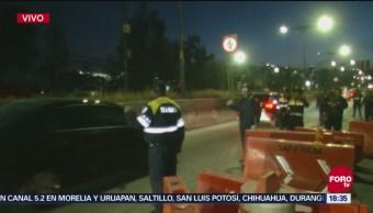 Bloqueo afecta vialidad en la carretera México-Toluca