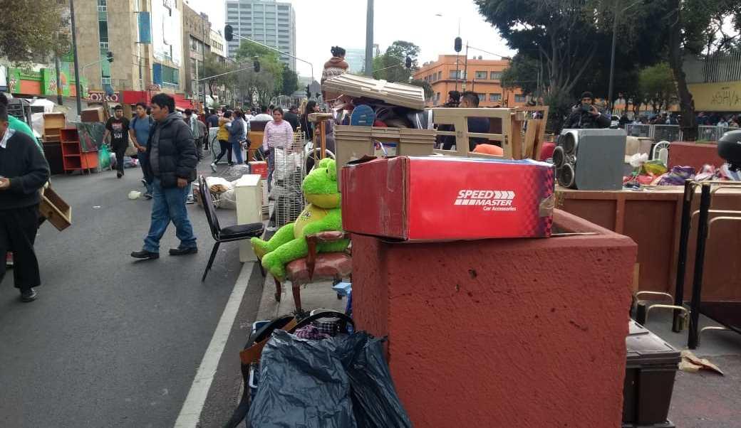 Persiste bloqueo de familias desalojadas en Arcos de Belén