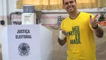 Hijo de Bolsonaro ofrece Brasil para juzgar 'dictaduras'