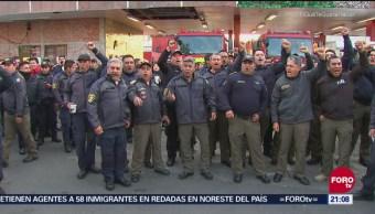 Bomberos Cdmx Protestan Exigir Mejoras Laborales