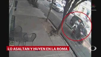 Cámaras Vigilancia Captan Asalto La Roma