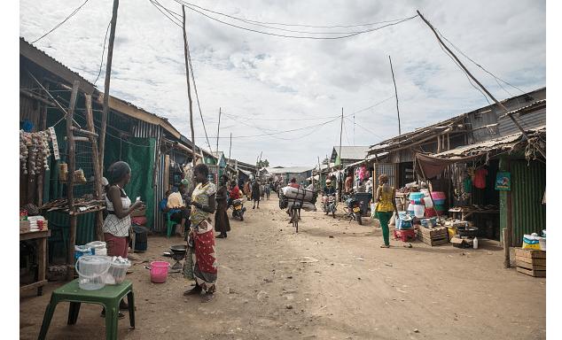 Campo de refugiados en Kenia. (Getty Images, archivo)