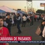 Caravana de migrantes llega a Jalpan de Serra de Querétaro