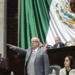 Carlos Urzúa comparece en la Cámara de Diputados