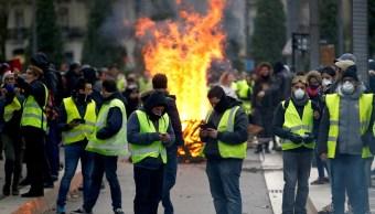 Protestas generan más de 2 mil mdd de pérdidas en Francia