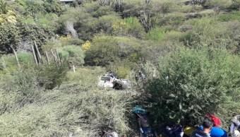 Choque automovilístico deja 3 muertos en Arteaga, Michoacán