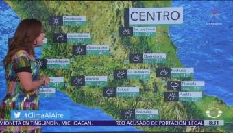 Clima Al Aire: Pronostican lluvias aisladas en la Ciudad de México