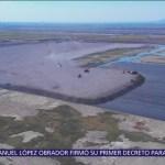 ¿Cómo van las obras del NAIM en Texcoco?