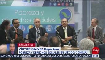 Coneval presenta medición de pobreza y derechos sociales en México