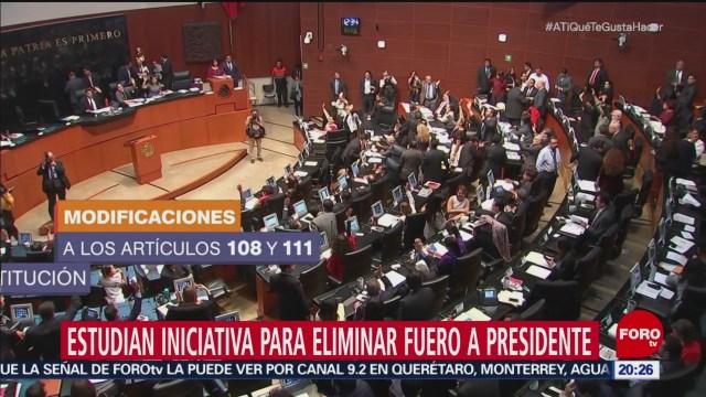Congreso De La Unión Recibe Iniciativa Amlo Fuero Presidencial
