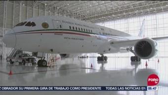 Conoce el interior del avión presidencial antes de que lo vendan