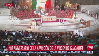 Continúa el arribo de peregrinos a la Basílica de Guadalupe