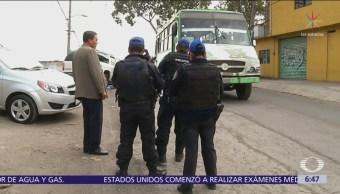 Crimen organizado, detrás de asaltos a transporte público en Iztapalapa