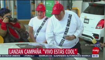 """Cruz Roja lanza campaña """"vivo estás cool"""""""