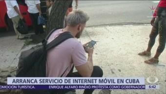 Cuba ofrece internet móvil con red 3G para celulares